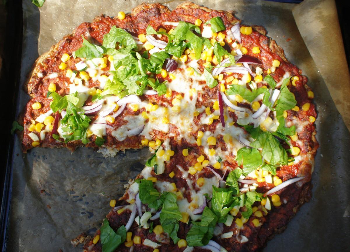 Pizza z kalafiora, bez pszenicy!