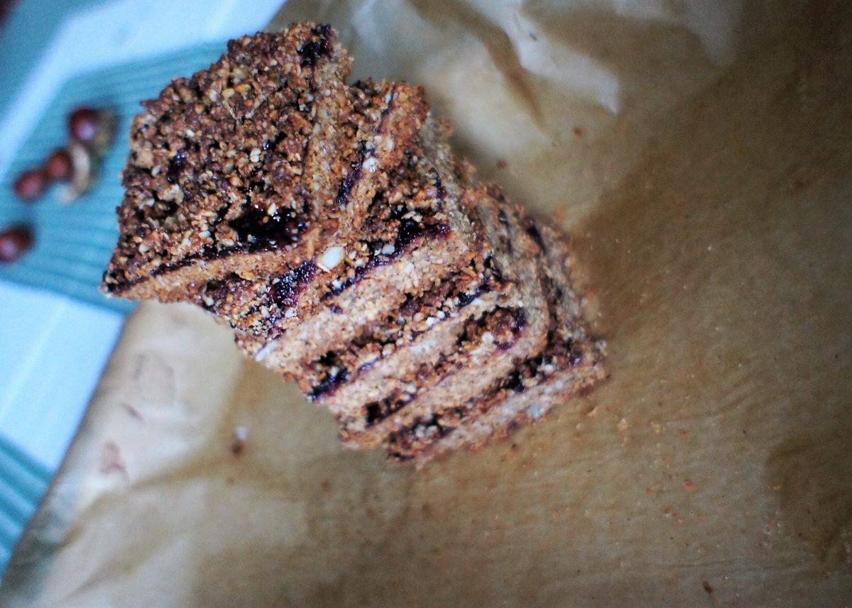 Kruche ciasto inaczej z domową konfiturą