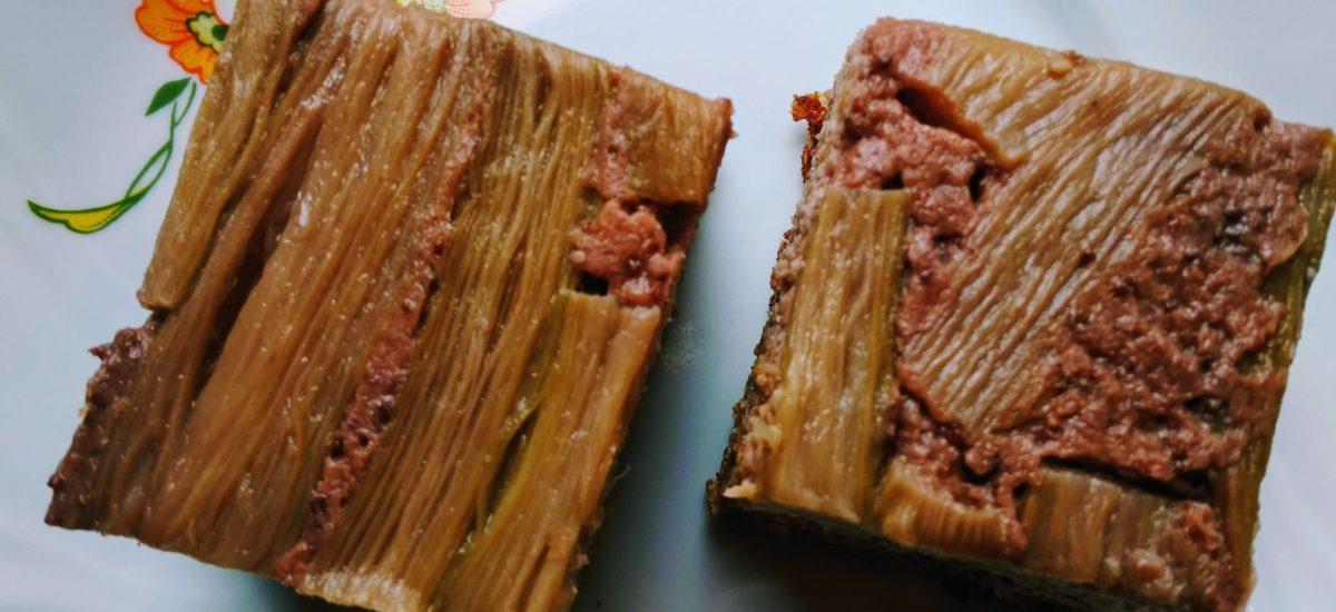Ciasto z rabarbarem (bez cukru, bez glutenu)