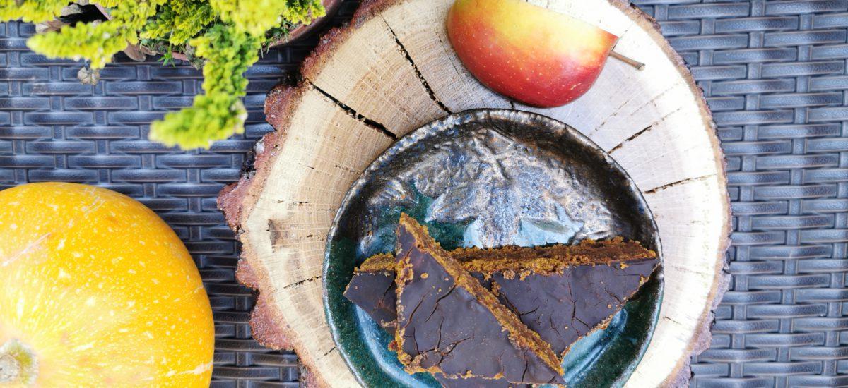Ciasto dyniowe wyjątkowe (wegańskie)